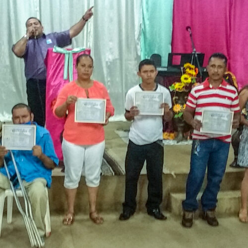 CELEBRATING 5 YEARS AT WELLSPRING OF LIFE CHURCH IN NUEVO AMANECER