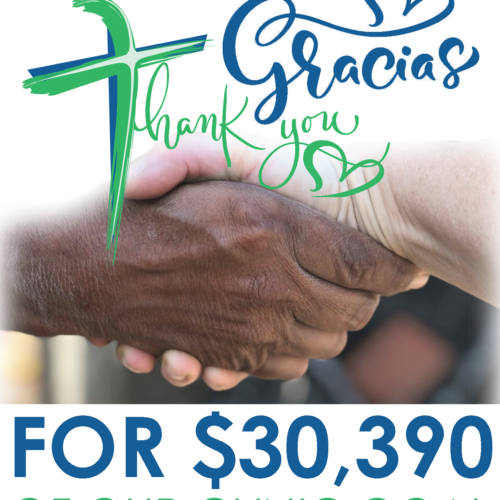 CLINIC: Thank You For Your Continued Generosity!
